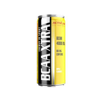 BCAA Xtra Energy in Sport ActivLab regeneračný nápoj 6-pack, jablko 6x250 ml
