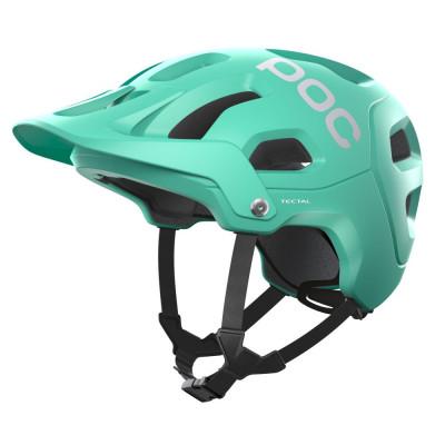 MTB prilba na bicykel POC Tectalfluorite Green Matt zelená