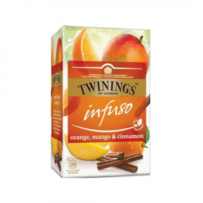 Twinings ovocný čaj Infuso Pomaranč, Mango & Škorica 20x2 g