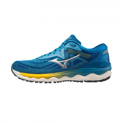 Bežecké tenisky unisex Mizuno WAVE SKY 4 modré