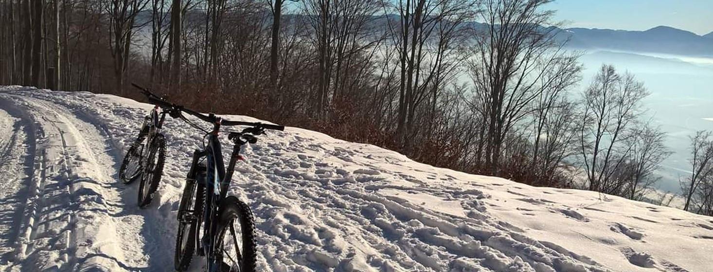 Horský bicykel aj v zime? Je to možné.
