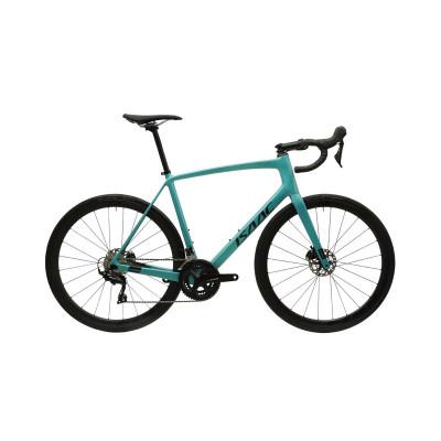 Cestný karbónový bicykel s kotúčovými brzdami Isaac Vitron Borealis Green zelená