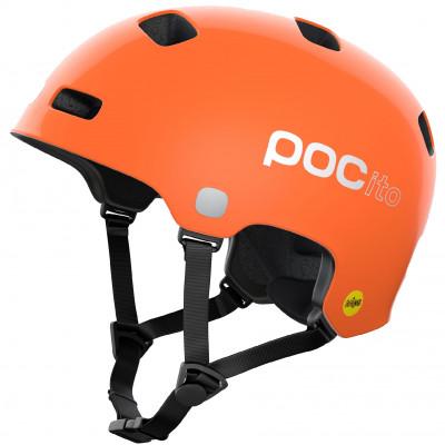 Cyklistická prilba detská POC POCito Crane Mips - Fluorescent Orange