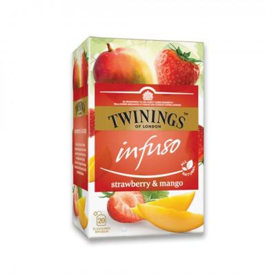 Twinings ovocný čaj Infuso Jahoda a Mango 20x2 g