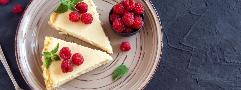 Recept na nepečený cheesecake plný bielkovín