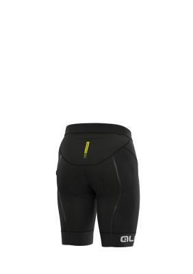 Letné cyklistické nohavice pánske Alé R-EV1 Agonista Plus čierne/biele