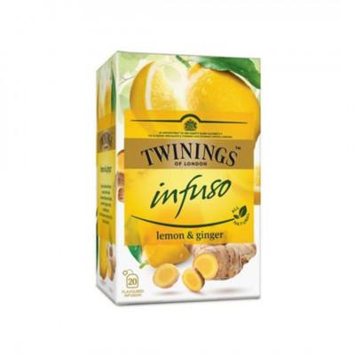 Twinings ovocný čaj Infuso Citrón a Zázvor