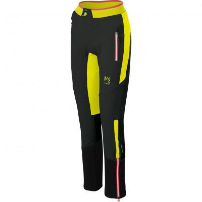 Zimné outdoorové nohavice dámske Karpos ALAGNA PLUS EVO čierne/žlté