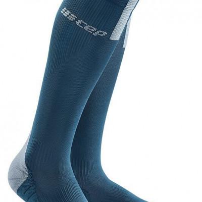 Bežecké kompresné ponožky dámske CEP 3.0 modré