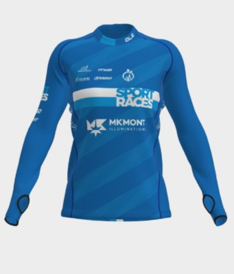 Běžecký dámský dres s dlouhým rukávem Sport Races