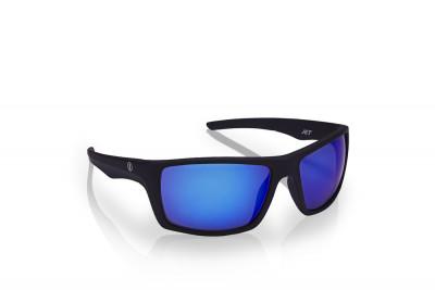 Brýle DEEP Black Mirrortronic Blue