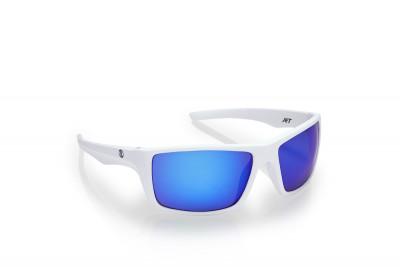 Brýle DEEP White Mirrortronic Blue