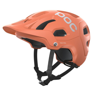 MTB prilba na bicykel POC Tectal LT Agate  Matt oranžová