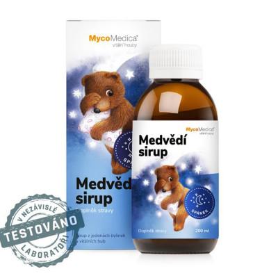Medvedí detský sirup MycoMedica 200 ml