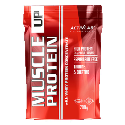 Muscle Up Protein ActivLab proteín s príchuťou vanilka 700 g