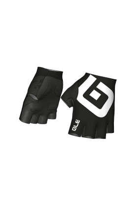 Letné cyklistické rukavice Alé Air Glove čierne/biele