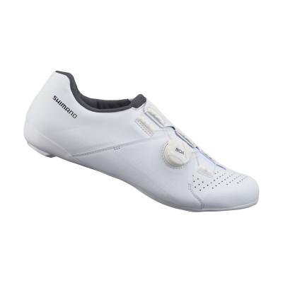 Cyklistické tretry dámske Shimano SHRC300 biele