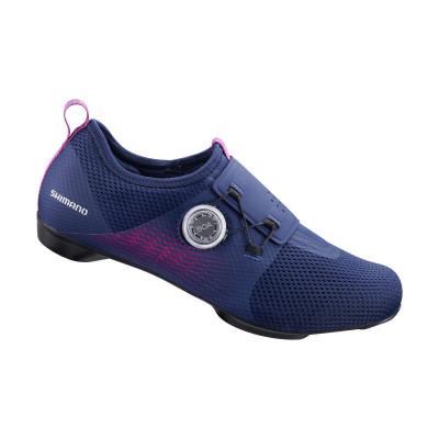 Cyklistické tretry dámske Shimano SHIC500 fialové