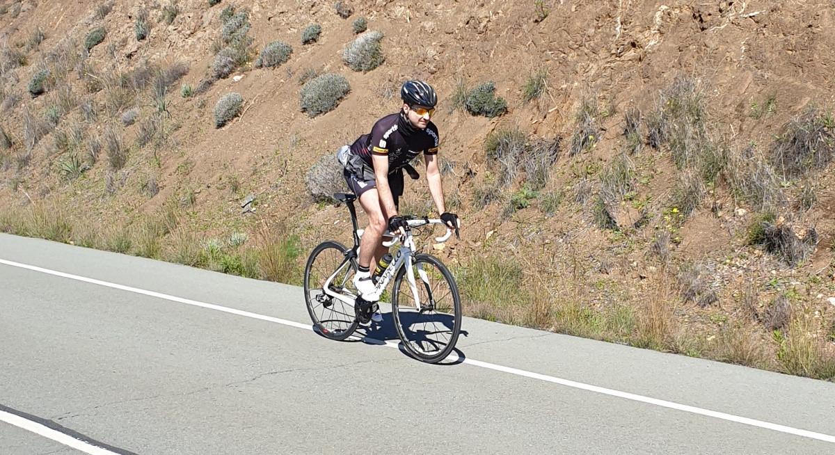 Cyklistika na jar a v zime Cyprus