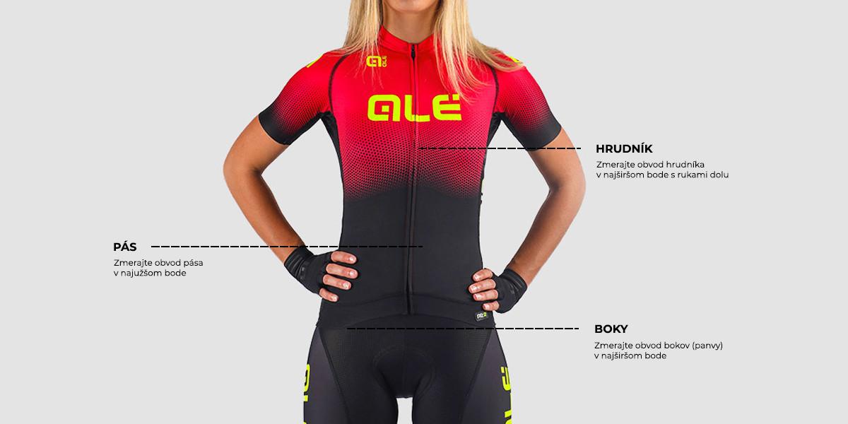 Dámske cyklistické dresy