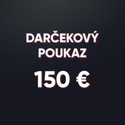 Darčeková poukážka v hodnote 150 € - elektronická forma