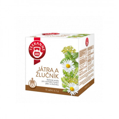 Teekanne bylinný čaj Pečeň a žlčník 10x2 g