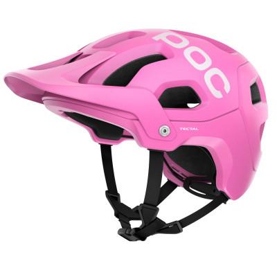 MTB prilba na bicykel POC Tectal Actinium Pink Matt ružová