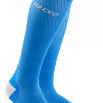 Bežecké kompresné ponožky dámske CEP Ultralight modré