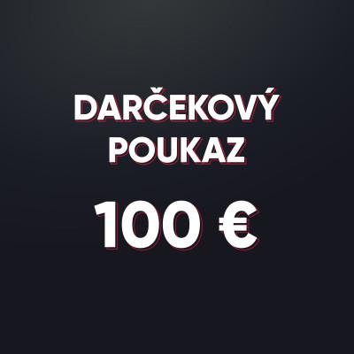 Darčeková poukážka v hodnote 100 € - elektronická forma