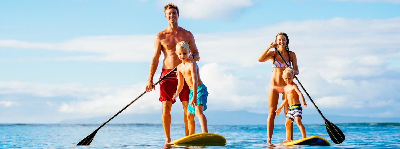 Vyskúšajte paddleboarding - nenáročný šport a výborný relax na vode