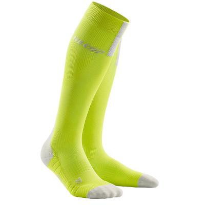 Bežecké kompresné ponožky dámske CEP 3.0 žlté