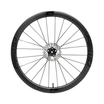 Karbónové kolesá pre cestný bicykel Fast Forward RYOT44 44 mm náboje FFWD 2:1 farba MattBlack plášť