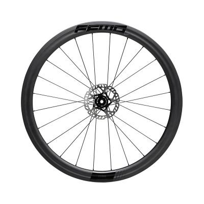 Karbónové kolesá pre cestný bicykel FFWD TYRO 45 mm náboje FFWD farba MattBlack plášť