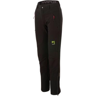 Outdoorové nohavice dámske Karpos CEVEDALE EVO čierne/tmavosivé