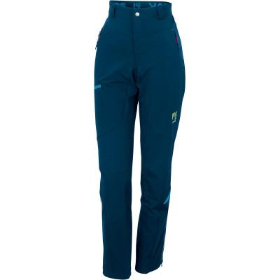 Outdoorové nohavice dámske Karpos CEVEDALE EVO tmavomodré/modré