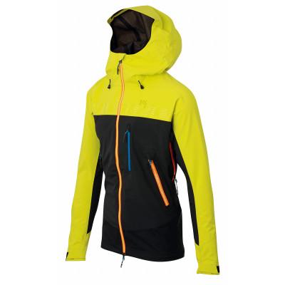 Outdoorová bunda pánska Karpos JORASSES PLUS žltá/čierna