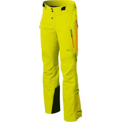 Outdoorové nohavice pánske Karpos JORASSES PLUS žlté