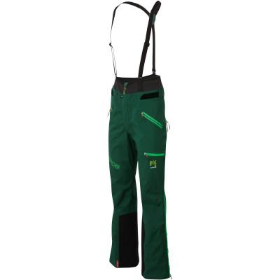 Outdoorové nohavice pánske Karpos K-PERFORMACE GTX PRO tmavozelené