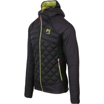 Outdoorová bunda pánska Karpos LASTEI ACTIVE PLUS čierna/antracit