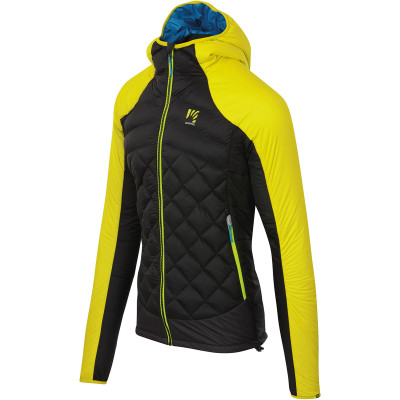 Outdoorová bunda pánska Karpos LASTEI ACTIVE PLUS žltá/čierna
