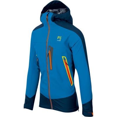 Outdoorová bunda pánska Karpos MARMOLADA svetlomodrá/tmavomodrá