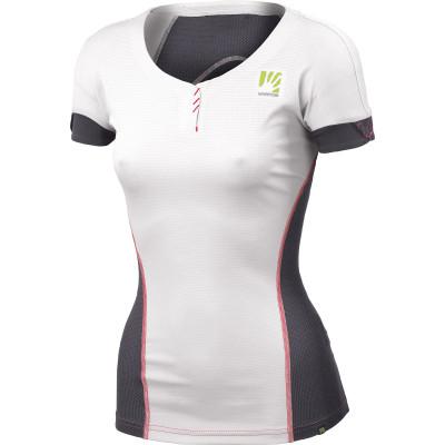 Outdoorové tričko dámske Karpos MOVED biele/tmavosivé