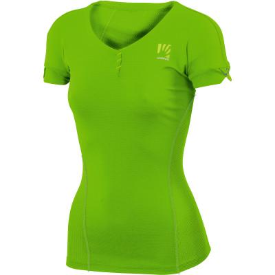 Outdoorové tričko dámske Karpos MOVED zelené