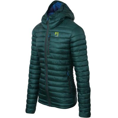Outdoorová bunda pánska Karpos Mulaz zelená