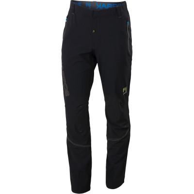Letné outdoorové nohavice pánske Karpos RAMEZZA LIGHT čierne