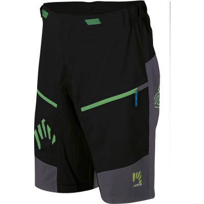Outdoorové nohavice pánske Karpos RAPID Baggy čierne/tmavomodré