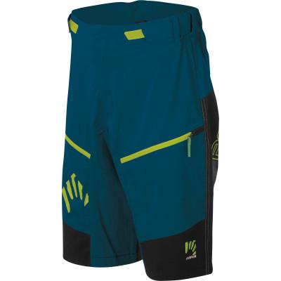 Outdoorové nohavice pánske Karpos RAPID Baggy modré/čierne