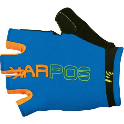 Karpos RAPID rukavice modré/oranžové fluo