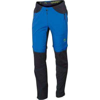 Outdoorové nohavice pánske Karpos ROCK MULTIFORM ZIP-OFF modré/čierne