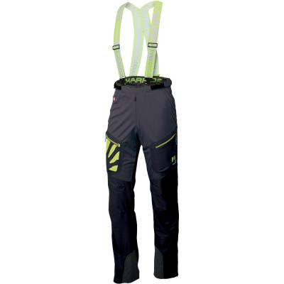 Outdoorové nohavice pánske Karpos SIGNAL sivé/čierne